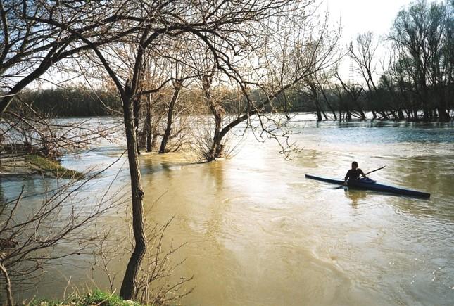rozvodnený Dunaj
