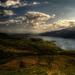 Pohlad na jazero Loch Lomond