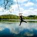 Hupacka u jazera