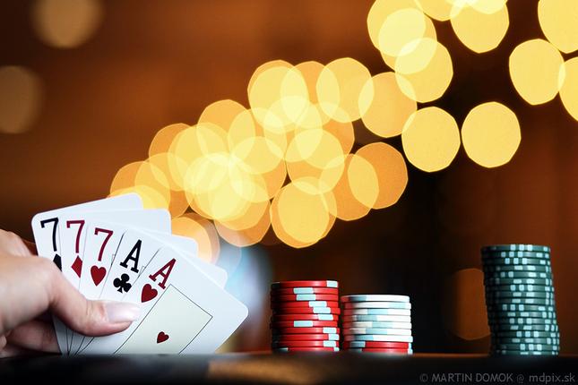 Casino night...