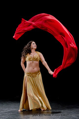 Orientálna tanečnica Aziza