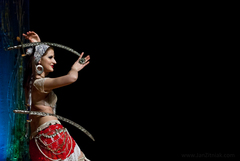 Orientálna tanečnica Dina