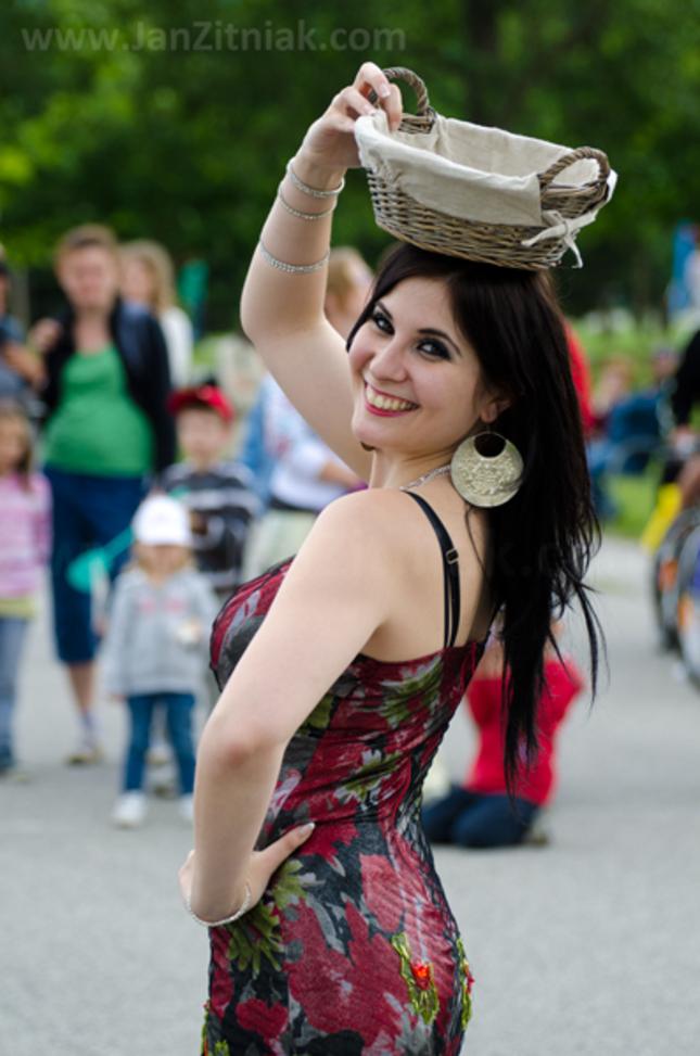 Orientálna tanečnica Ranya
