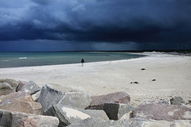 V Dánsku na pláži 01