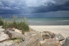 V Dánsku na pláži 02