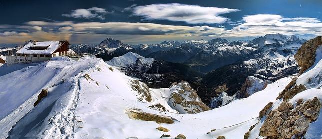 Horska chata Lagazuoi