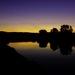 západ slnka nad torysou ..