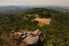 Výhľad zo Sitna na Tatarsku lúku