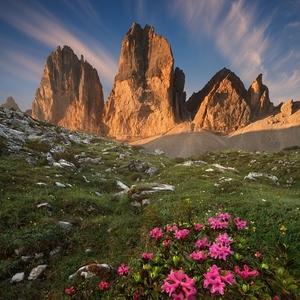 Azalky a symbol Dolomit