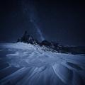 Noc v Dolomitech