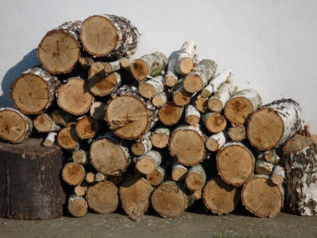 kopa dreva