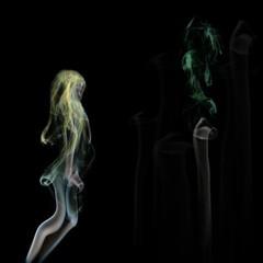 Dymová lesná víla