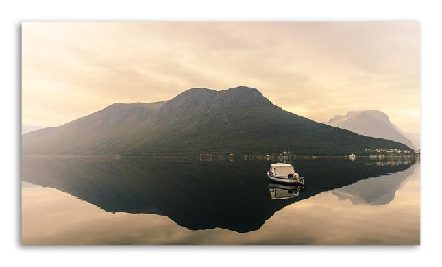 Pri východe na fjorde