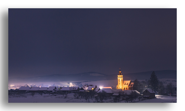 Mrazivá dedina