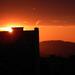 Sídliskový západ slnka....