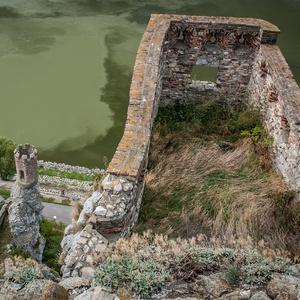 Pohľad z Hradu Devín