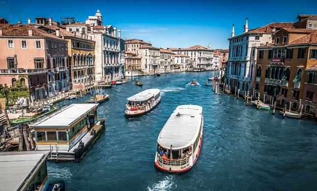 MHD v Benátkach