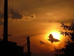 zapad slnka...