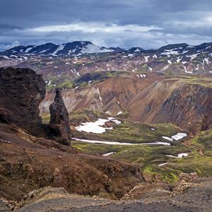 Dúhové hory - pohľady