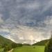 Oblaky nad Kľakom
