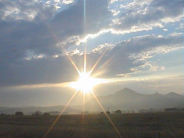 Západ slnka na Slovensku