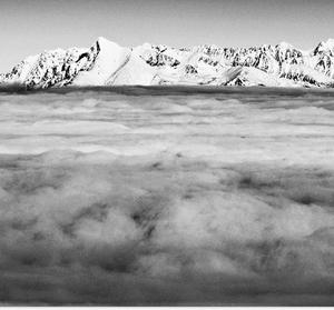 more oblakov a Tatry