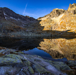 """mountain mirror"""