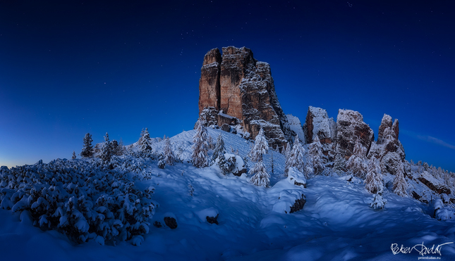 Zimojeseň v Dolomitoch..