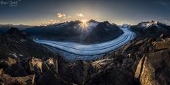 Great Aletsch Glacier
