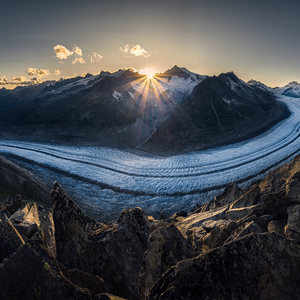 Great Aletsch Glacier
