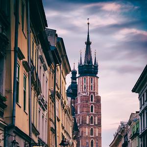 Pouličný ruch mesta Krakow II.
