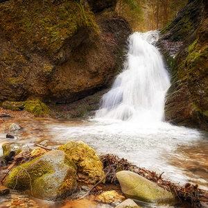 Králický vodopád...