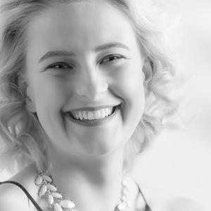 Kate veľký úsmev - keep smiling