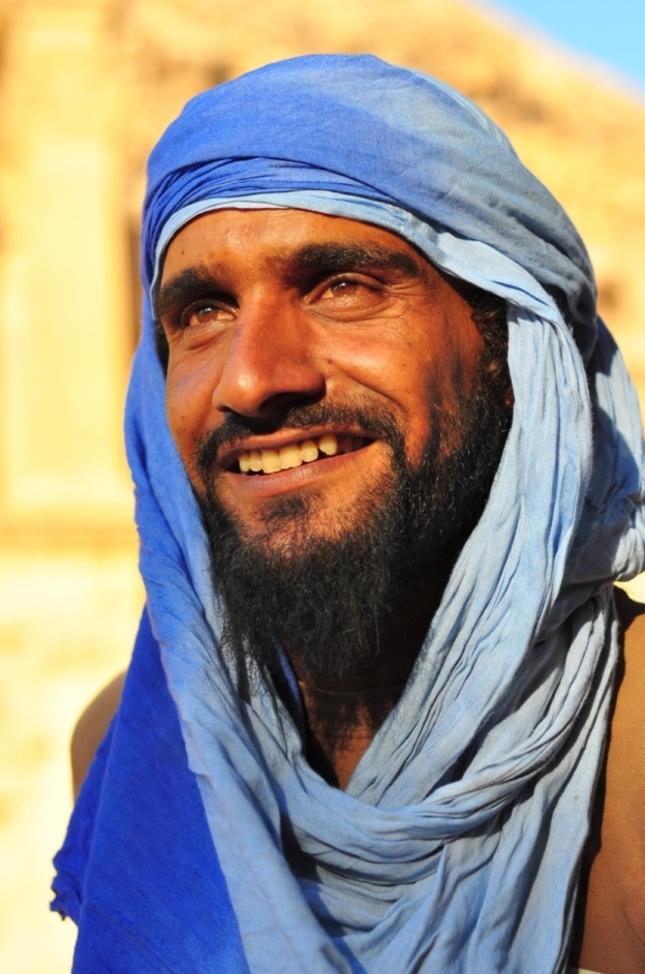 Beduin smile