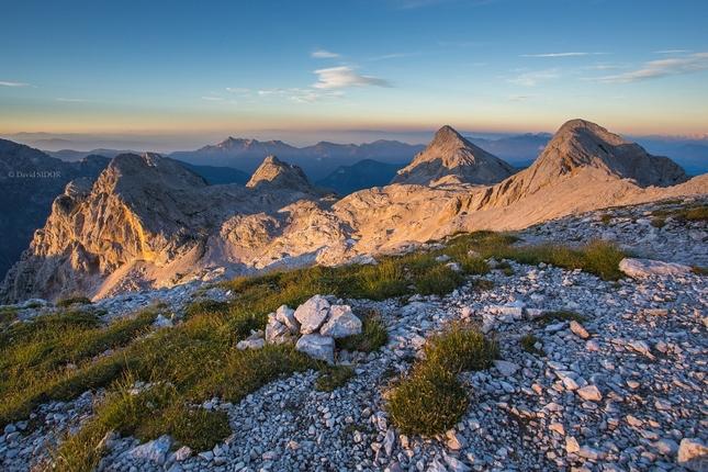 Večer v Julských Alpách