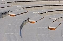 Zasnežený amfiteáter