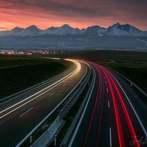 rýchlosť svetla na severnej D1