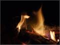 Horí ohník horí