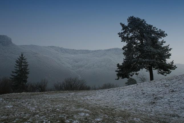 Začiatok zimy v Nízkych Tatrách
