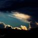 západ slnka nad Terchovou