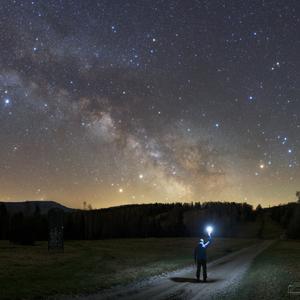 Cestou k Mliečnej ceste