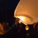 Vypustanie lampionov stastia