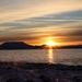 zapad slnka za fjord