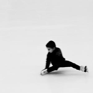 na ľade