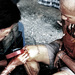 Pouličný tetovač