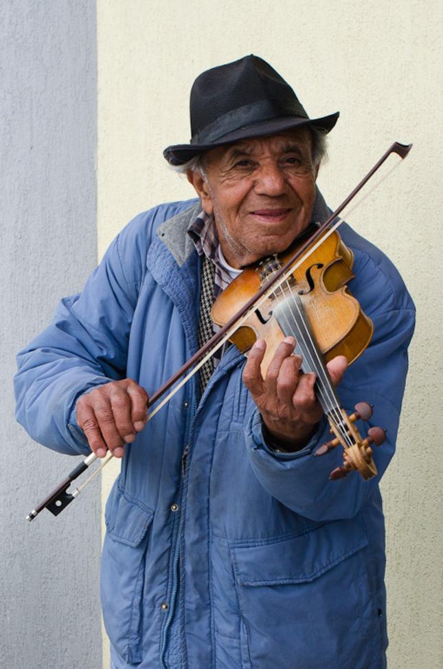 Pouličný hudobník