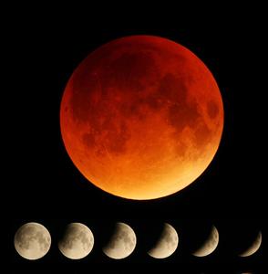úplné zatmenie Mesiaca 28.9. 201