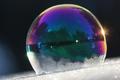 zamŕzanie bubliny