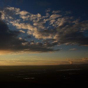 pred západom slnka