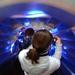 Atomium ..putovanie nadol